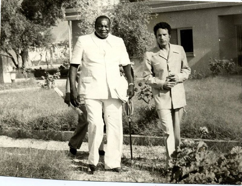 """Дада Уме Иди Ами - угандийский Президент и диктатор, называемый """"Черным Гитлером"""", диктатором-людоедом, убил более 500.000 человек"""