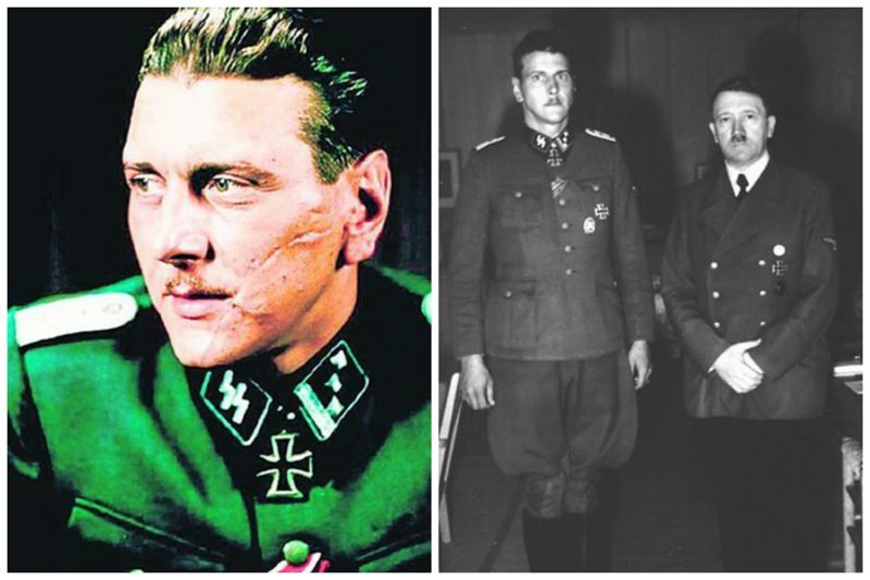 Отто Скорцени - знаменитый диверсант, друг Гитлера