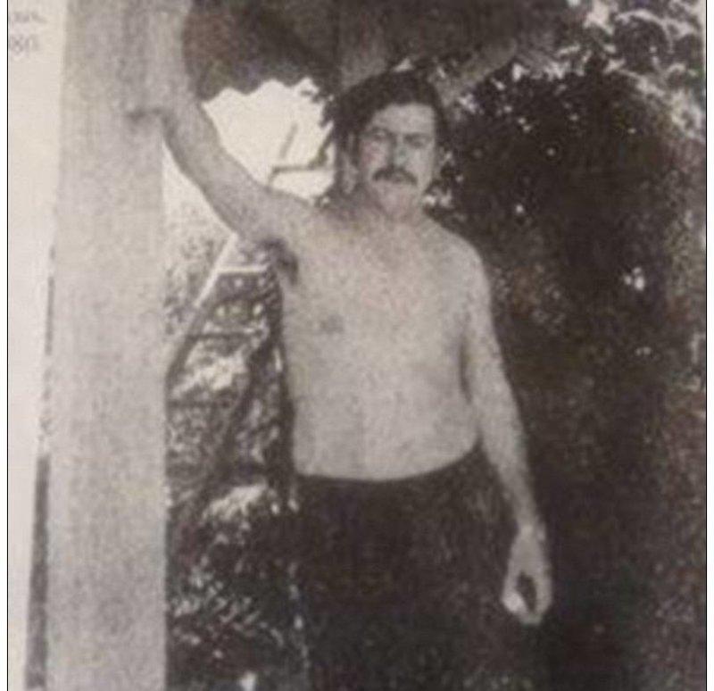 Молодой Пабло Эскобар