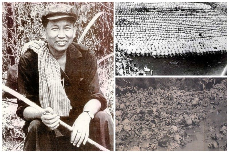 Пол Пот — камбоджийский политический и государственный деятель, лидер движения Красных Кхмеров.