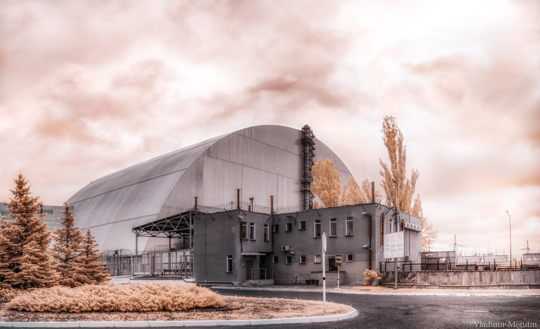 Атомная электростанция, Саркофаг, Чернобыльская зона отчуждения