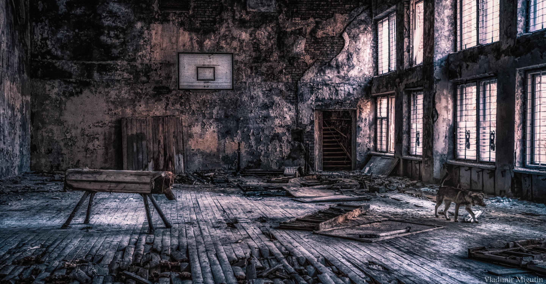 Спортивный зал в Припяти