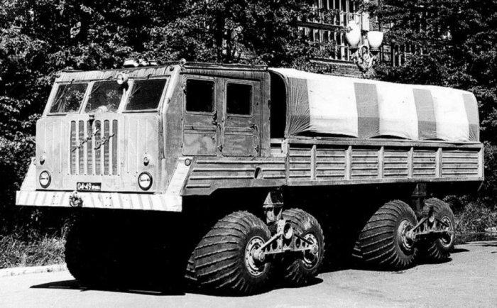 Грузовик НАМИ-094 с дизельным двигателем ЯМЗ-238, 1963 г.в.