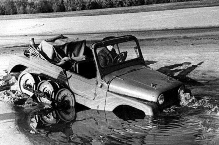 Экспериментальные советские грузовики