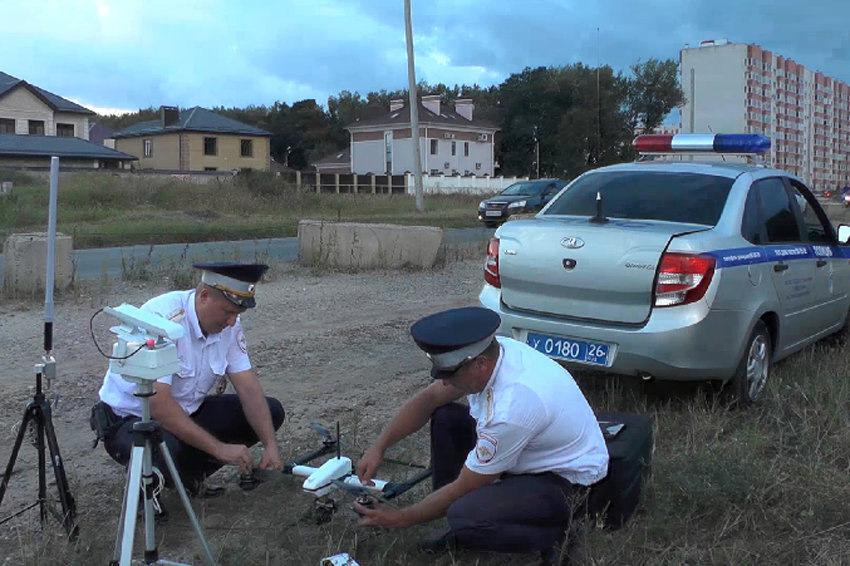 Новый мир: российская полиция использует дроны для отслеживания автомобилистов