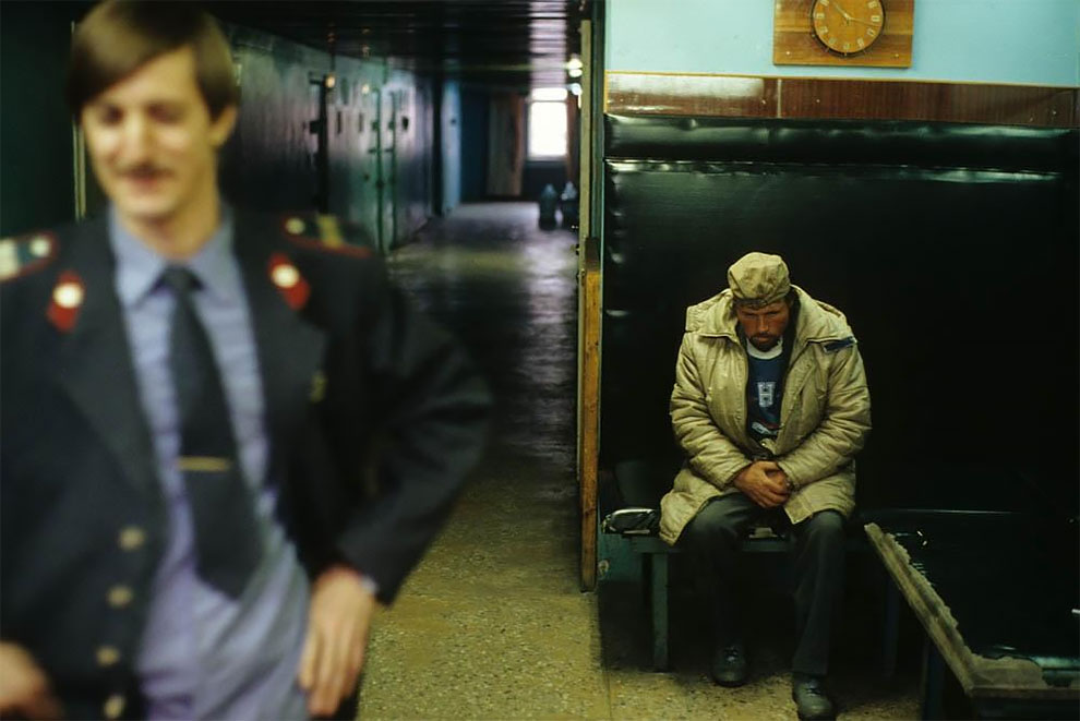Норильск. Вытрезвитель. 1993