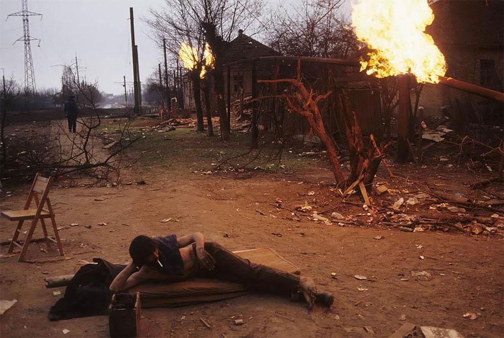 Грозный. 12 января 1995 г. Начало Первой чеченской войны