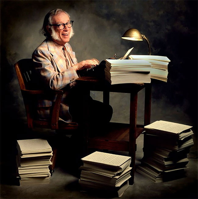 Айзек Азимов (Isaac Asimov)