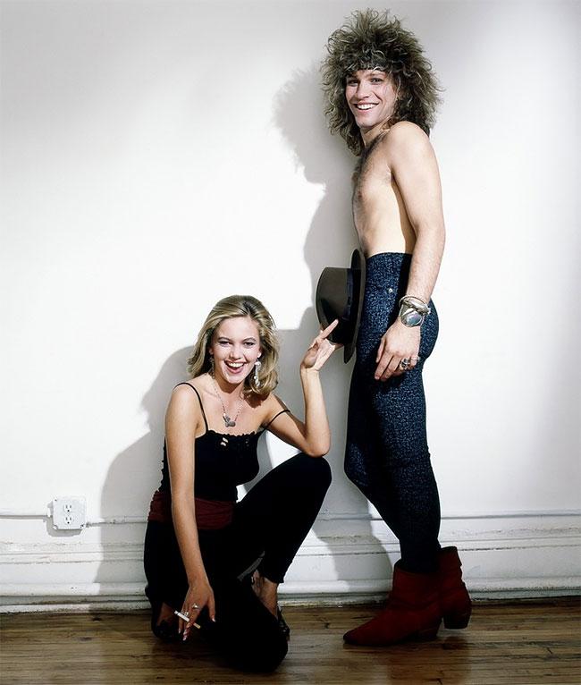 Дайан Лэйн (Diane Lane) и Джон Бон Джови (Jon Bon Jovi)