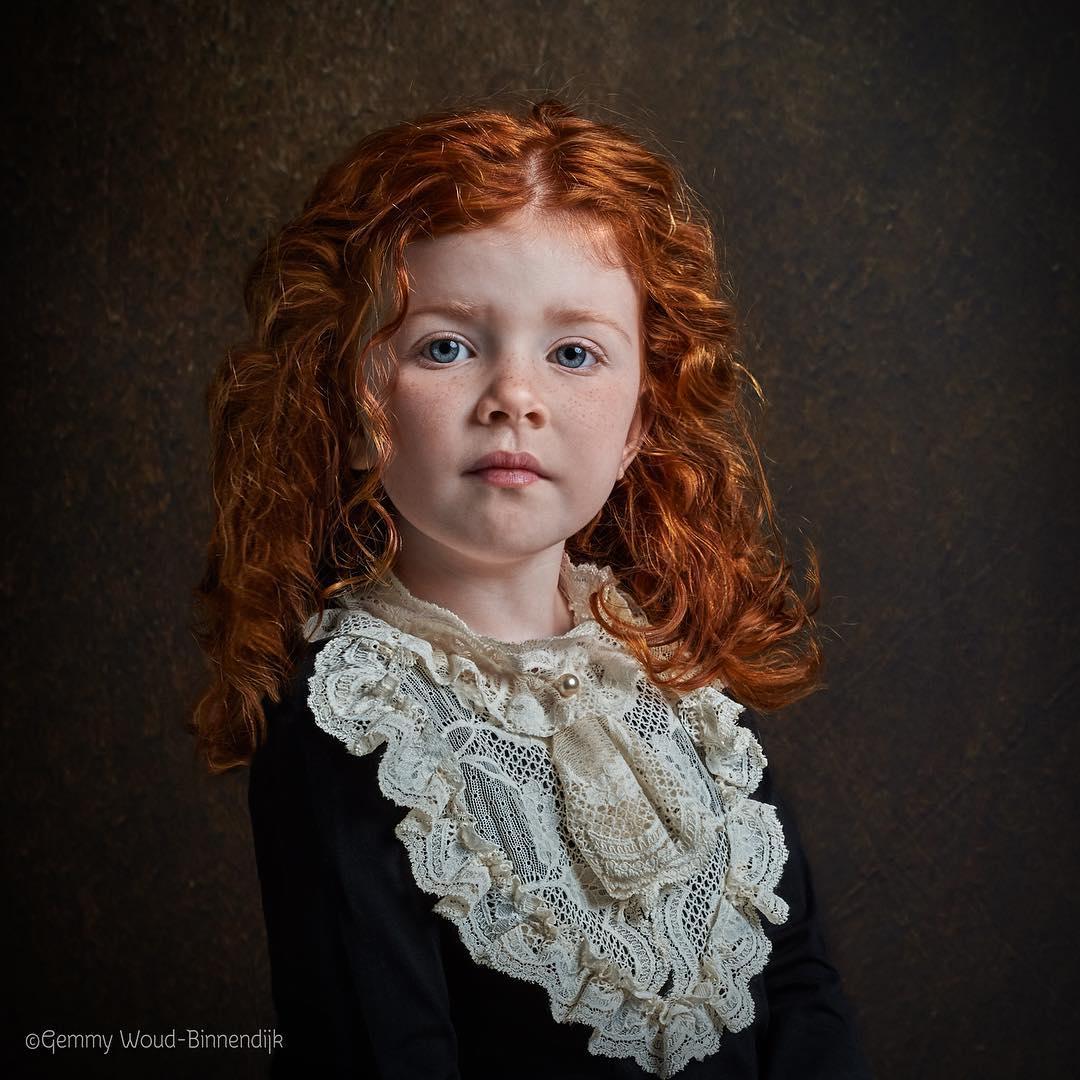 Портреты в стиле старых мастеров