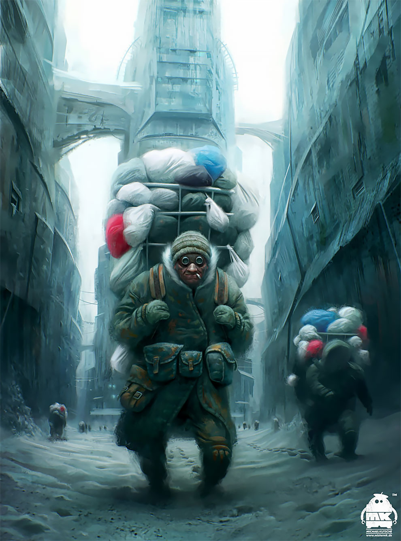«Мы все здесь сумасшедшие»: концепт-арт Майкла Кётча