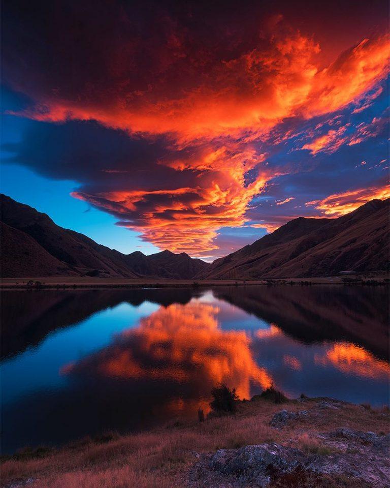 Удивительная пейзажи Новой Зеландии
