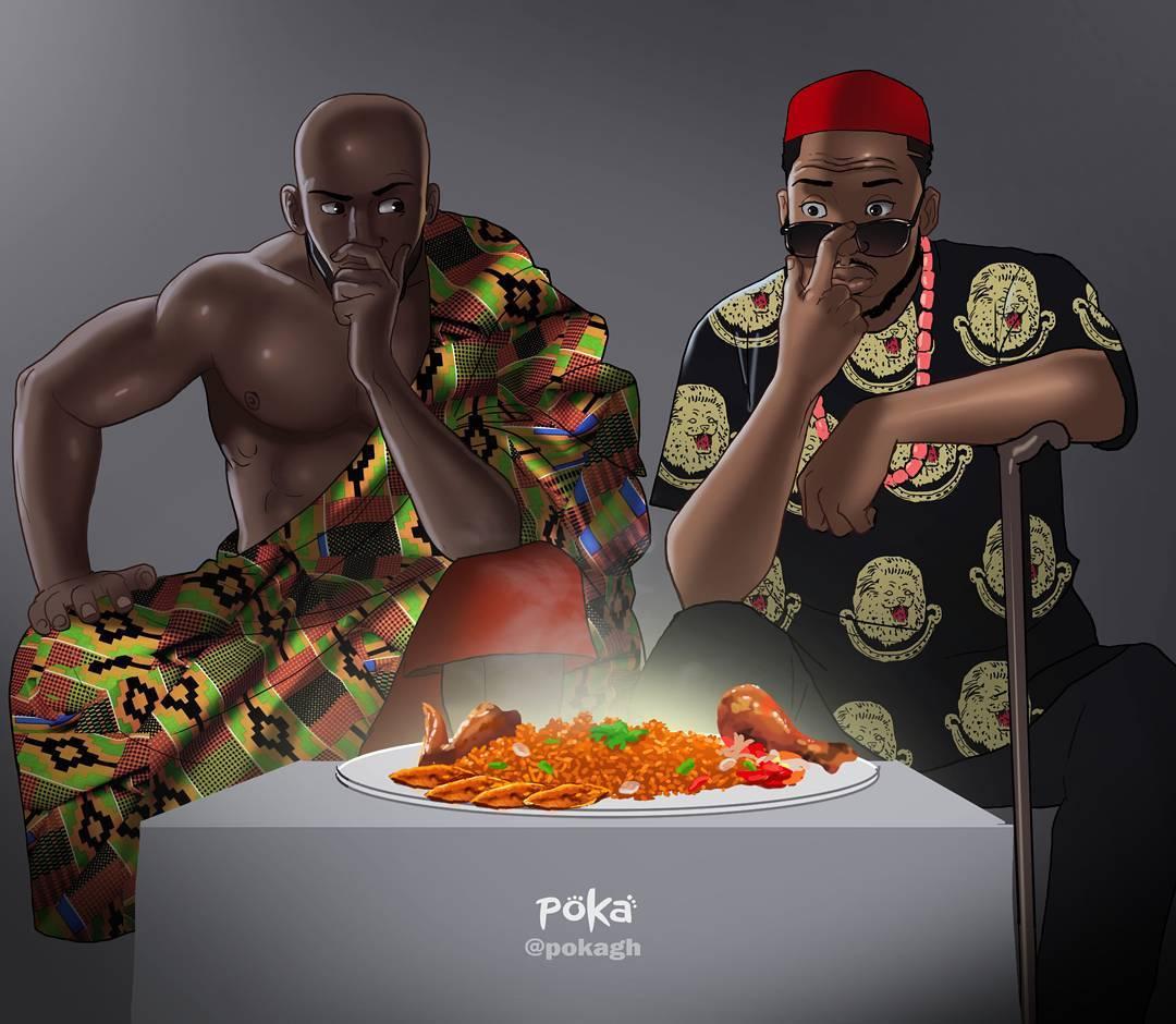 Чувственные иллюстрации от Poka