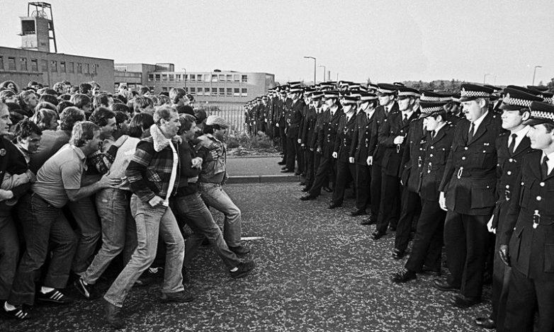 Забастовка британских шахтеров, 1984 год