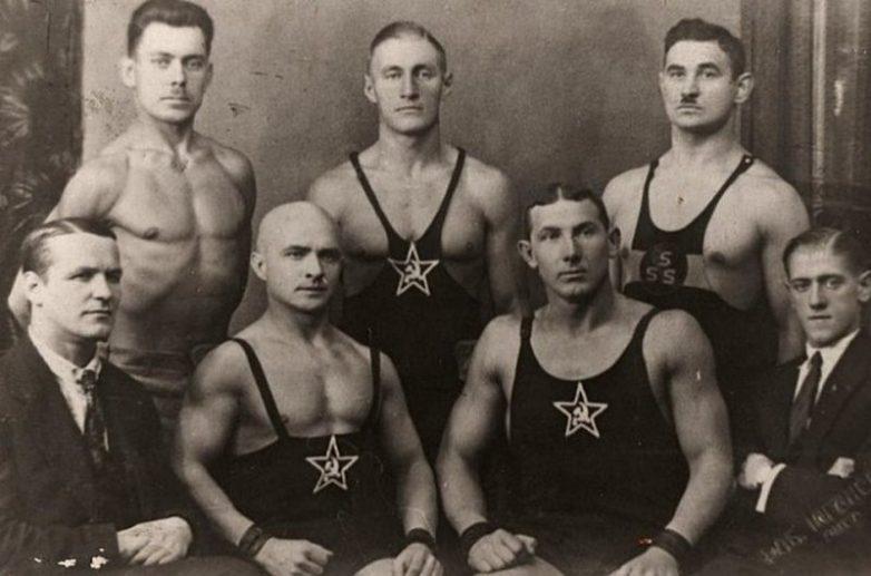 Советские борцы, Барнаул, 1930-е