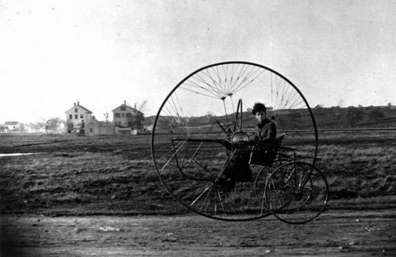 Трицикл, 1882 год.