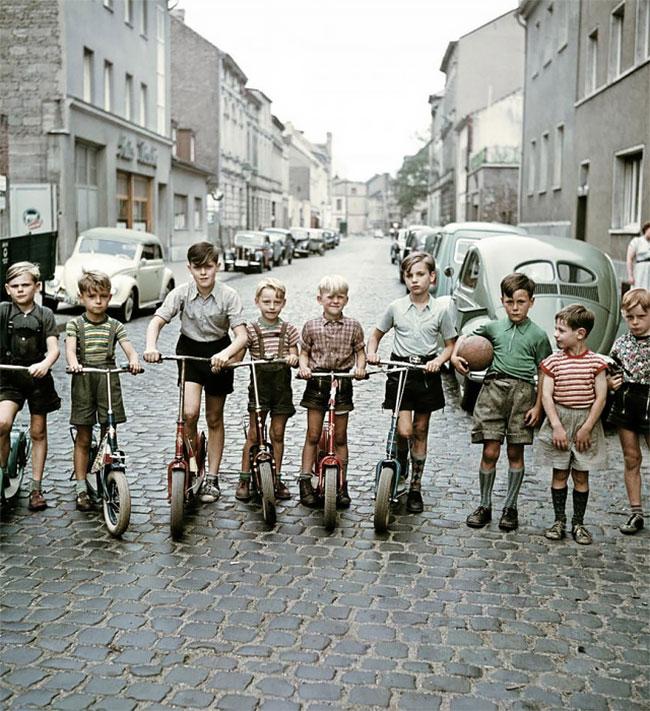 Германия после Второй мировой войны в фотографиях