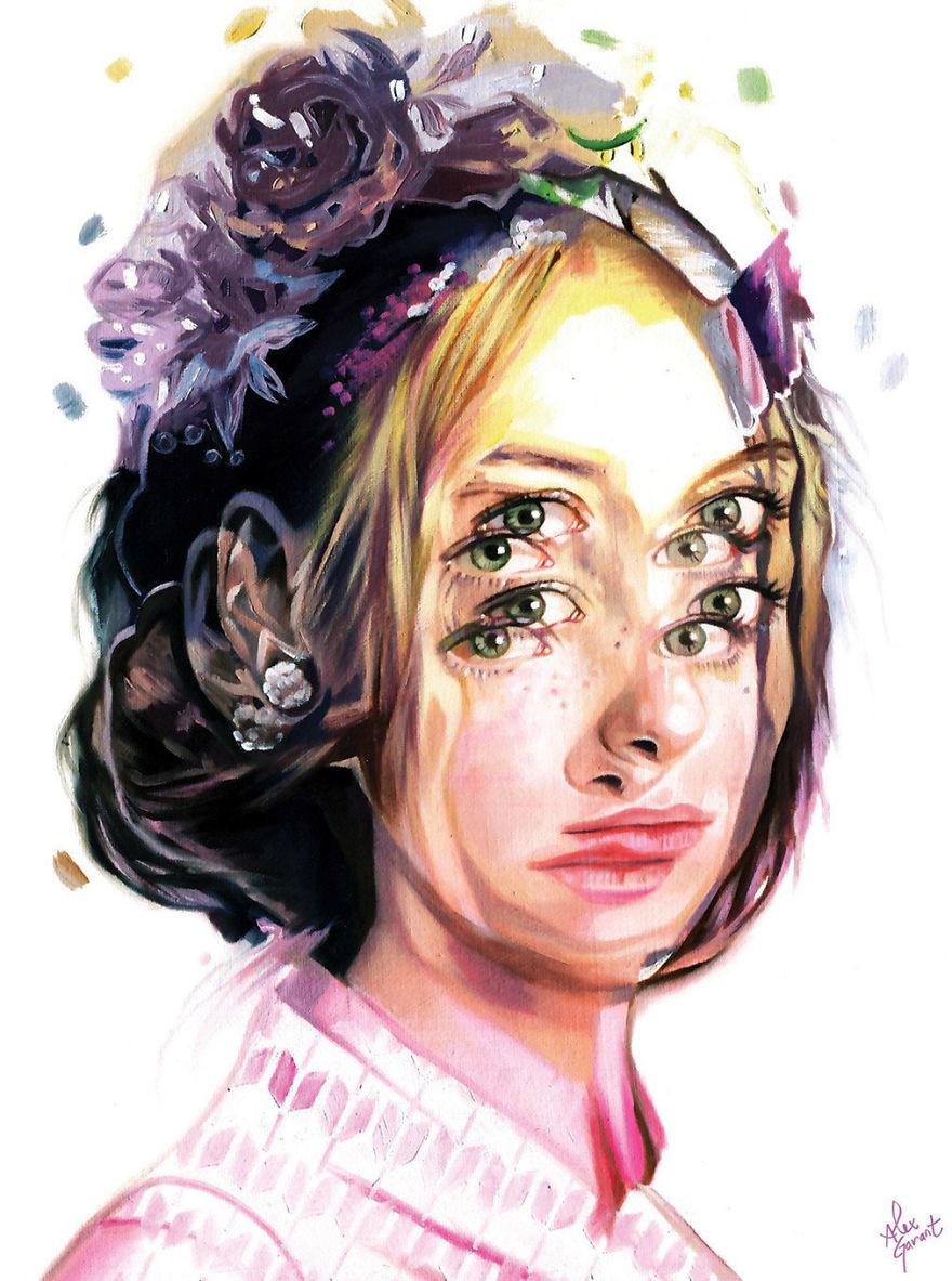 Алекс Гарант: гипнотизирующие рисунки