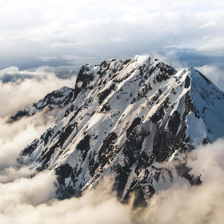 Великолепный горный ландшафт и восхождение