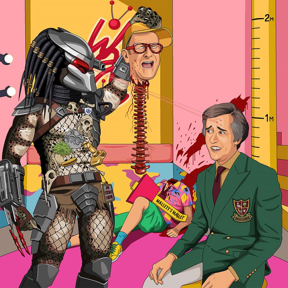 Сумасшедшие картинки с помощью Microsoft Paint