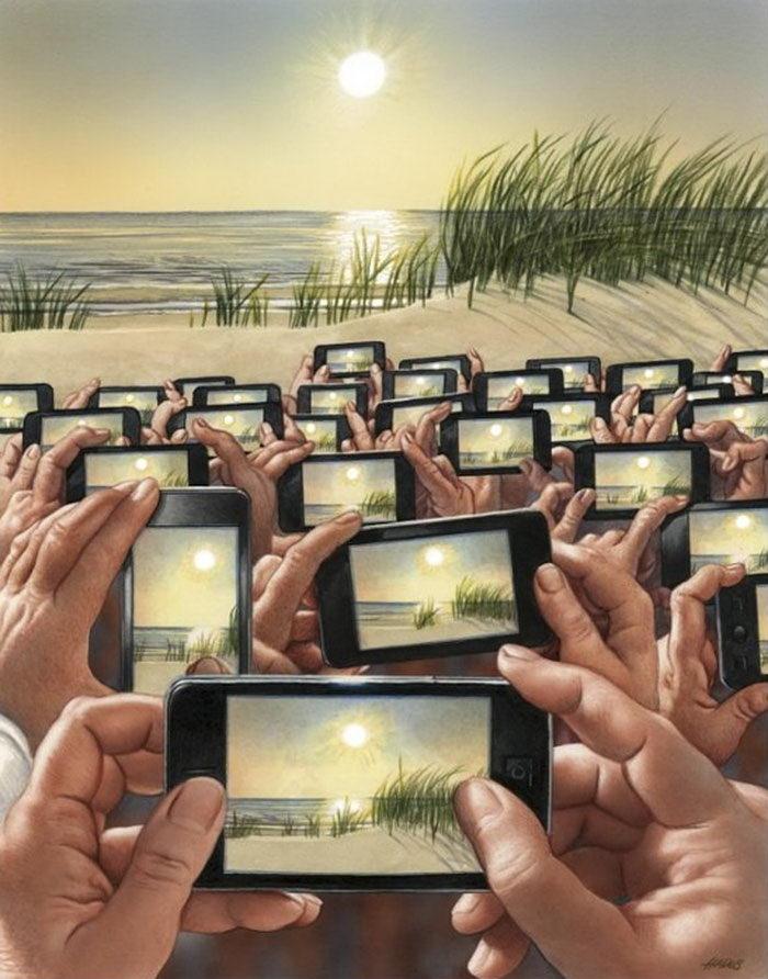 Иллюстрации проблем современного общества