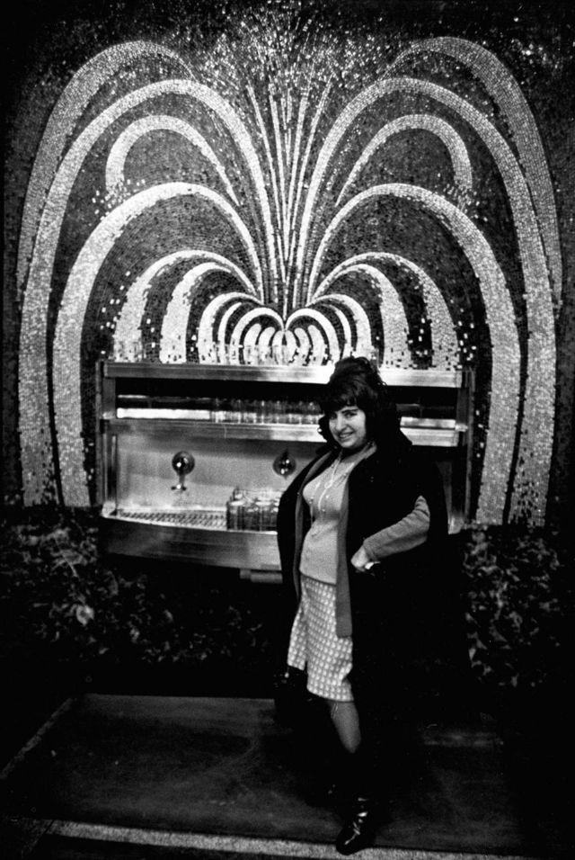 Нью-Йоркие кафетерии 1975-1985 год в объективе Марсии Гальперин