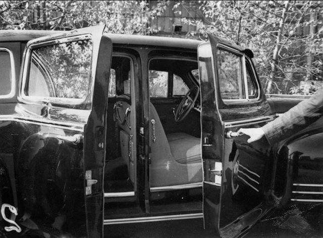 Засекреченные фотографии испытания первого советского бронированного автомобиля
