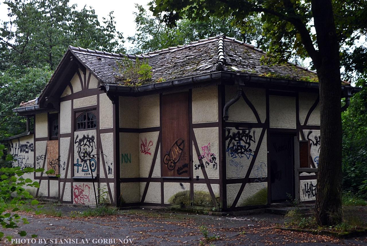 Заброшенная психиатрическая клиника в Лейпциге