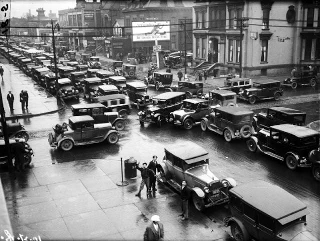 Затор в Детройте 1928