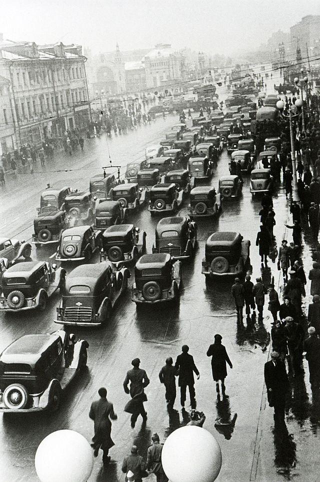 Пробка в Москве, 1931