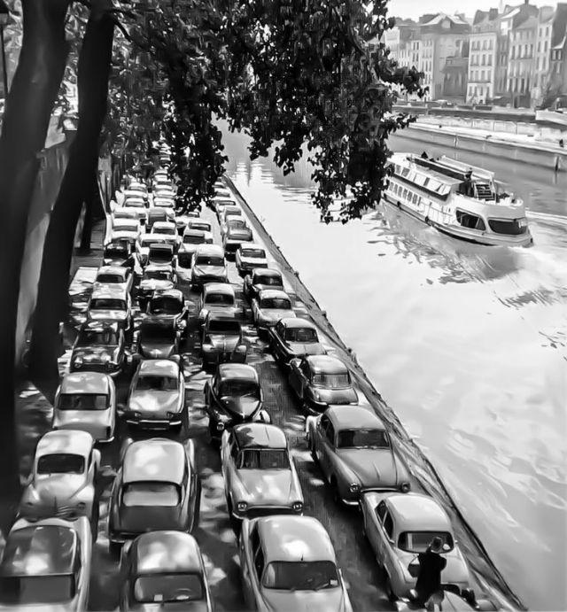 Париж 1954