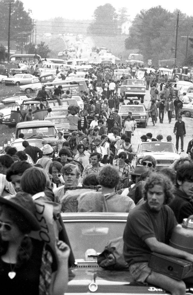 На пути к Вудсток, 1969