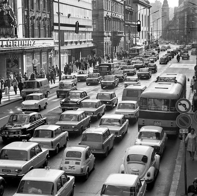 Будапешт, Венгрия в начале 1970-х годов
