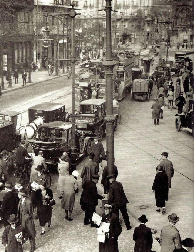 Пробки, Берлин, 1927