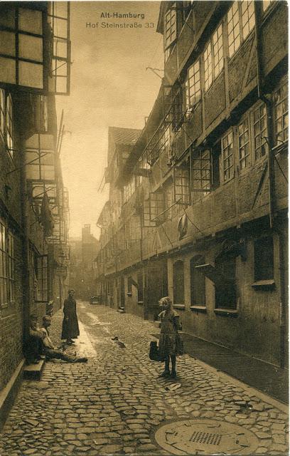 Редкие винтажные фотографии Гамбурга в начале 1910-х