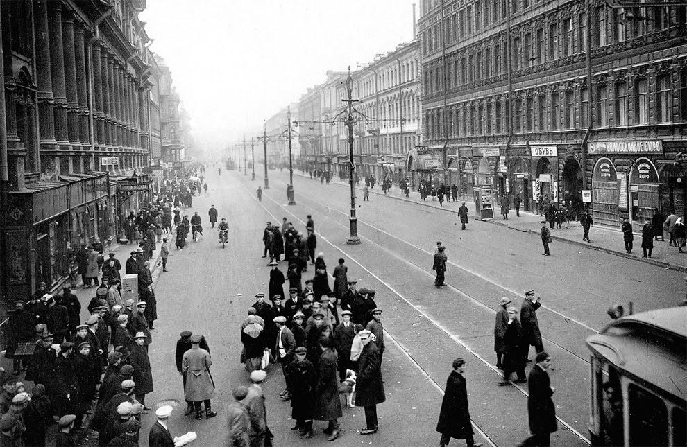 Старые фотографии жизни в Ленинграде в 1920-е годы
