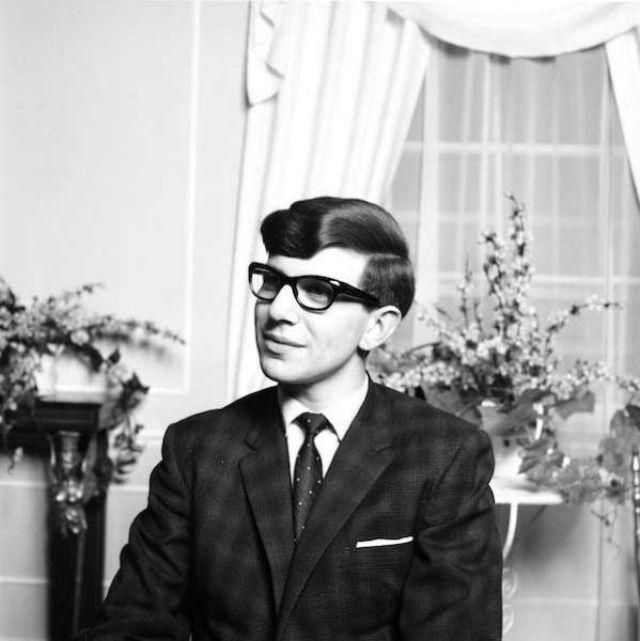 Портреты молодого Стивена Хокинга в колледже в мае 1963 года