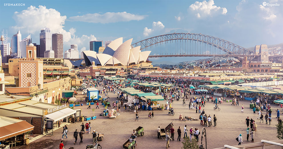 Фотопроект: «Гибридные города»