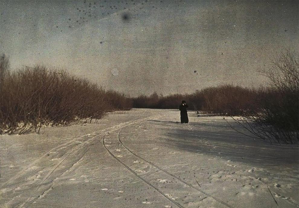 Первые в России цветные фотографии
