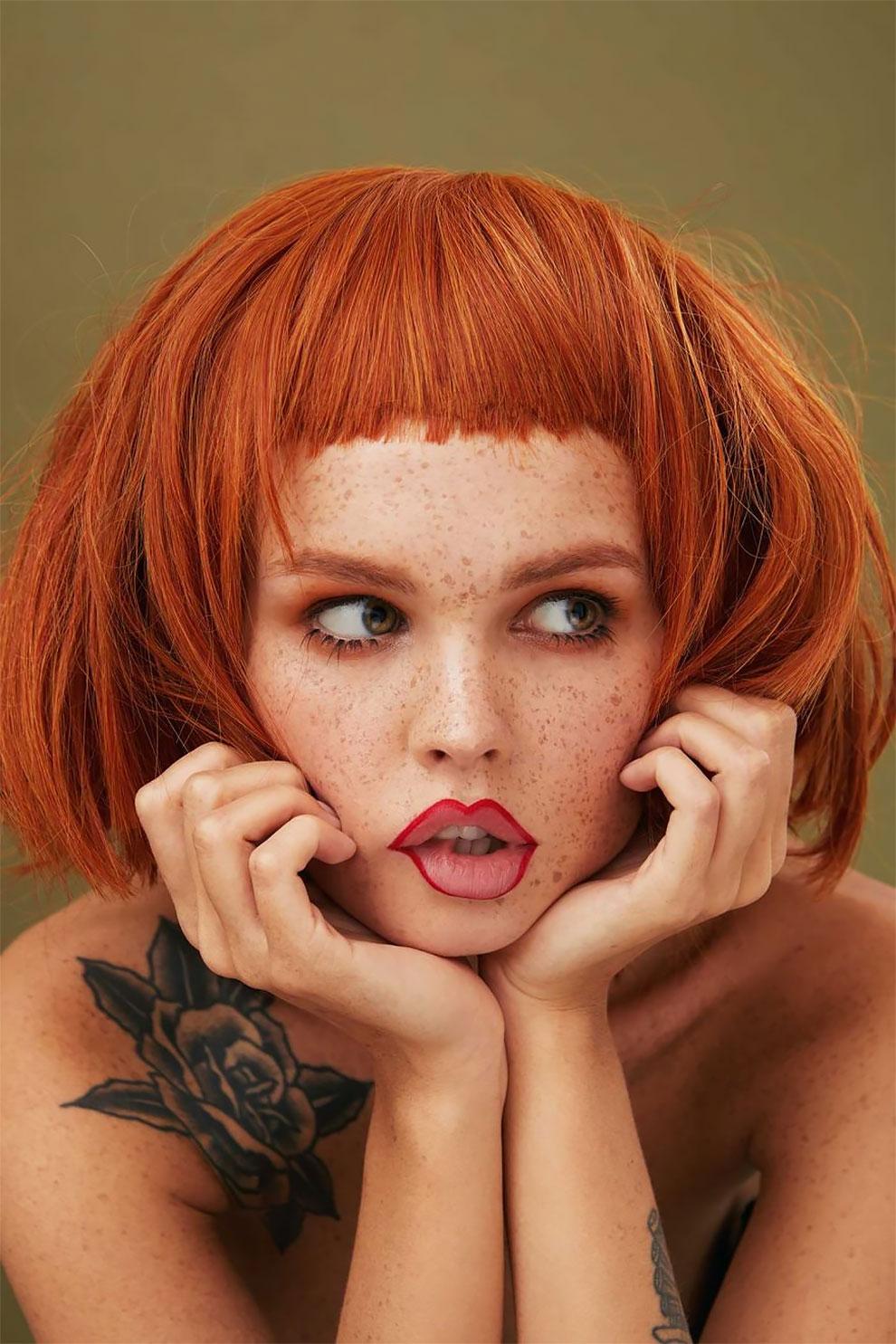 «Девушка с веснушками»: портреты фотографа Ксении Ветровой