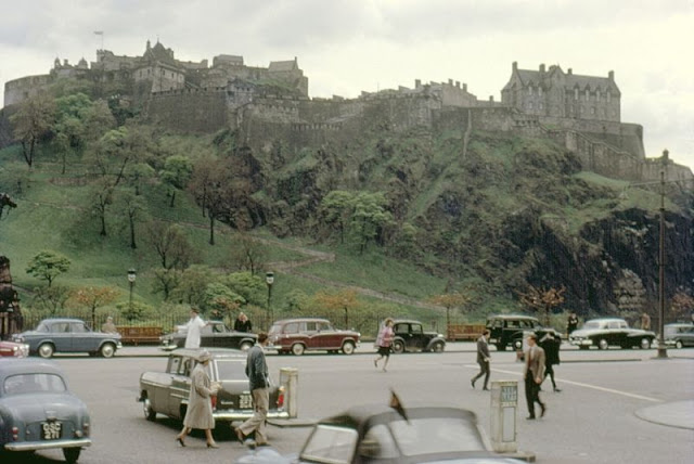 Снимки столицы Шотландии Эдинбурга в начале 1960-х