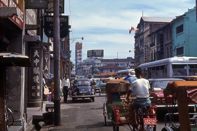 Сингапур в середине 1960-ых в объективе англичанина