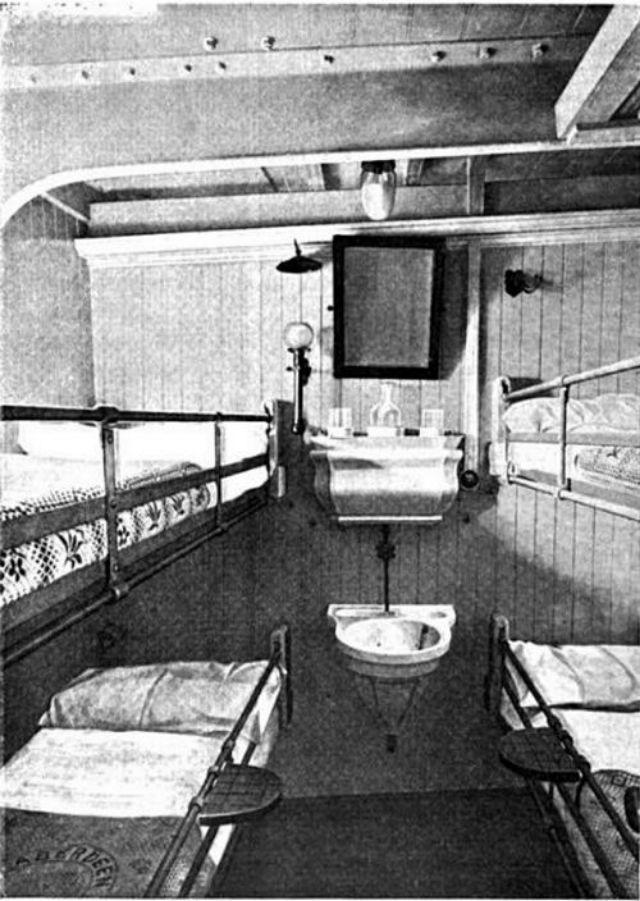 Реальный посадочный талон на Титаник, 1912