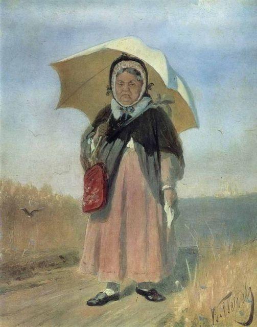 К Троице-Сергию, 1870