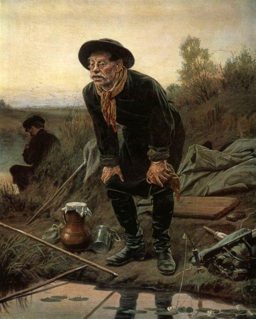 Рыбак, 1871