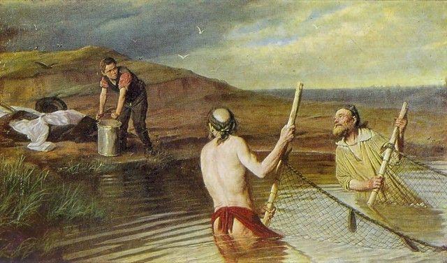 Рыбаки, 1879