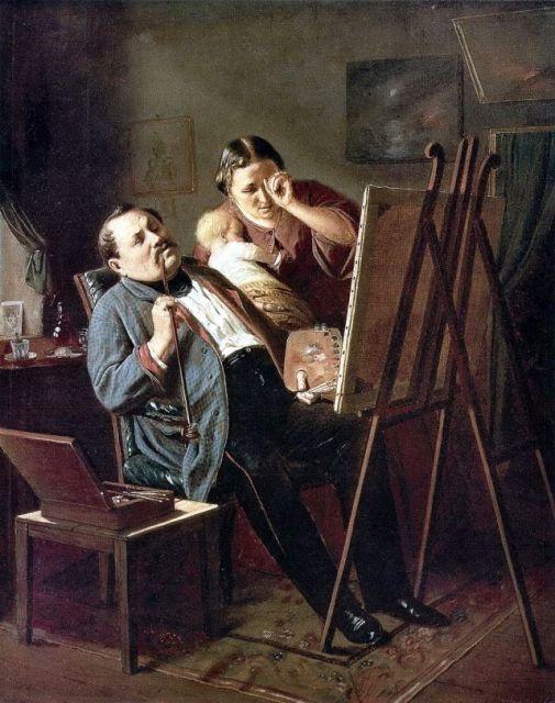 Дилетант, 1862