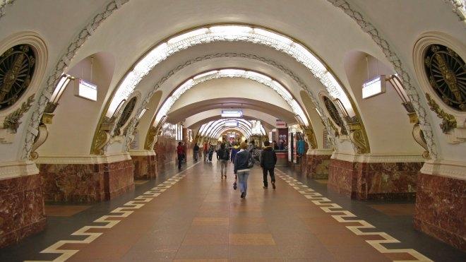 """Станция """"Площадь Восстания"""""""