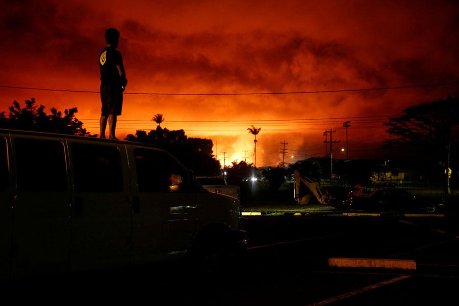 Снимки катастрофы на Гавайях после извержения вулкана Килауэа