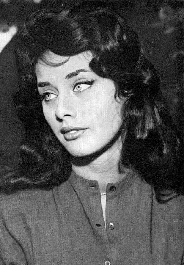 Красотка Вера Чехова в 1950-х и 1960-х годах
